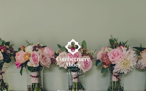 Screenshot of Terms Page combermereabbey.co.uk - Terms & Conditions | Combermere Abbey - captured July 20, 2018