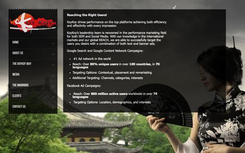 Screenshot of Press Page koykoy.net - Media �  Koy Koy - captured Jan. 9, 2016