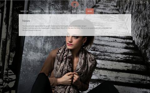 Screenshot of Press Page toosha.de - TOOSHA - Rome Collections - captured Oct. 9, 2014