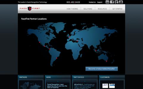 Screenshot of Locations Page facefirst.com - Locations | FaceFirst - captured Sept. 16, 2014