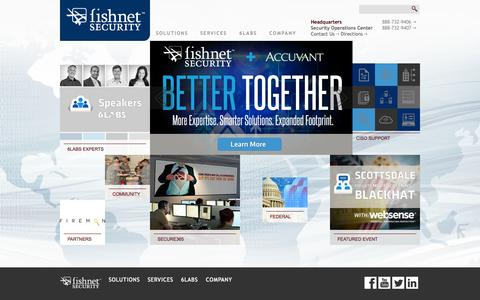 FishNet Security | The Largest Information Security & Infrastructure Solutions Provider