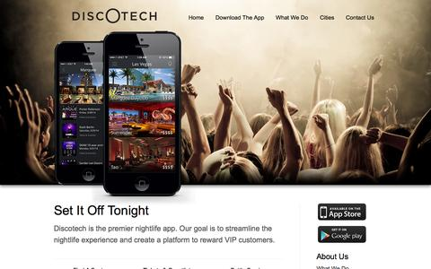Discotech - Bottle Service/Table Bookings, Guestlists, Tickets, VIP Club Access