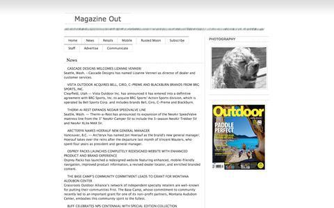 Screenshot of Press Page odrmag.com - Industry News | Outdoor Magazine - captured June 29, 2017