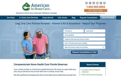 American In-Home Care LLC: Senior Home Health Care Florida