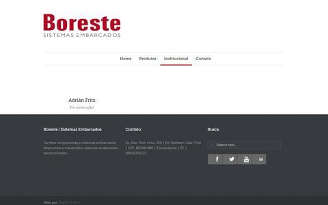 Screenshot of Team Page boreste.com - Boreste |   Equipe - captured Jan. 6, 2016