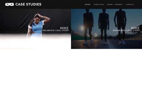 Screenshot of Case Studies Page dirtyrobber.com - Case Studies – Dirty Robber - captured Aug. 7, 2018
