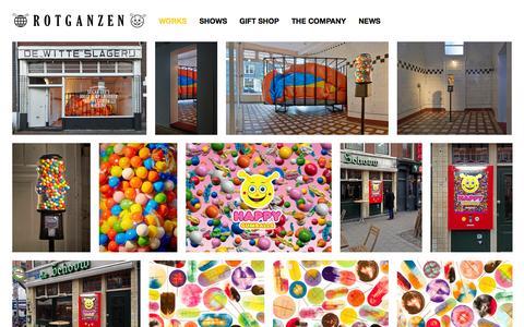 Screenshot of Home Page rotganzen.com - ROTGANZEN - captured Sept. 30, 2014