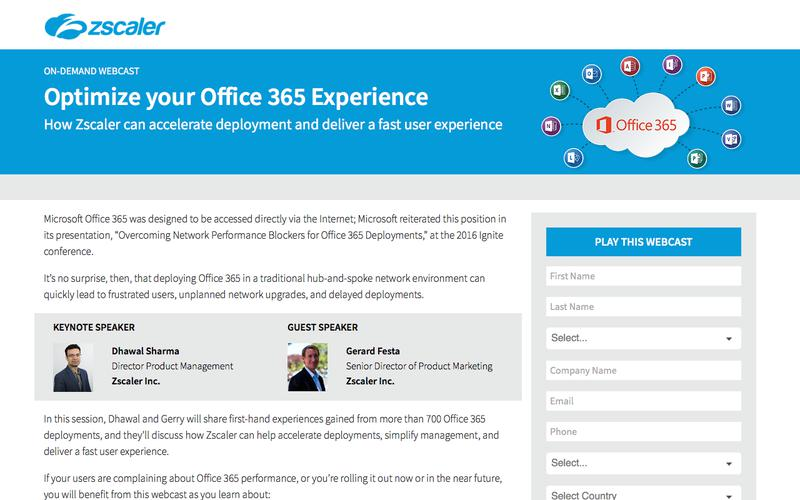 Optimize your Office 365 Experience