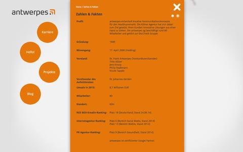 Screenshot of Press Page antwerpes.de - antwerpes ag - antwerpes ag - captured Oct. 23, 2014