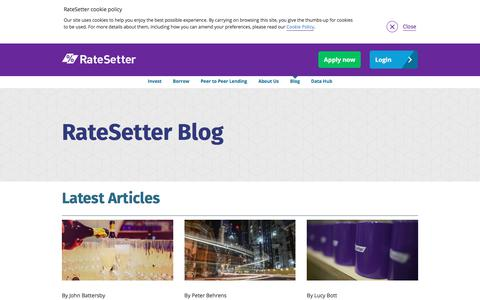 Blog | RateSetter