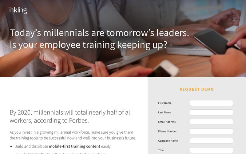 Inkling for Millennial Employees