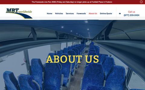 Screenshot of About Page mbtworldwide.com - MBT Worldwide - Massachusetts Bus Transit Worldwide, Boston MA - About Us - captured Sept. 29, 2017