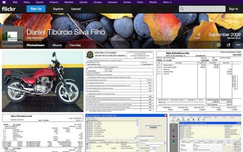 Screenshot of Flickr Page flickr.com - Flickr: Ideia Informática's Photostream - captured Oct. 25, 2014