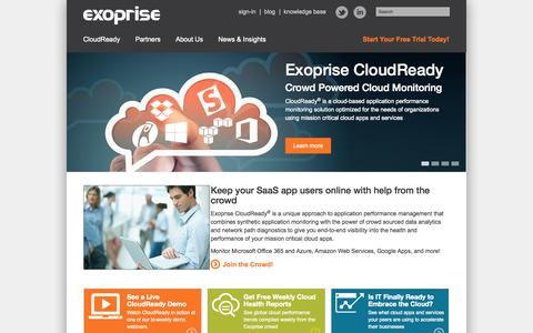 Application Performance Management for Business Cloud Apps   Exoprise