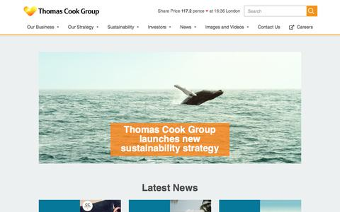 Thomas Cook | Media Centre
