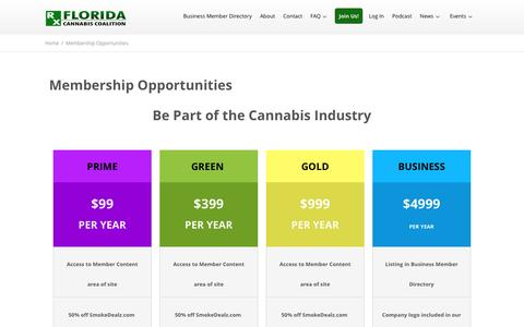Membership Opportunities - Florida Cannabis Coalition