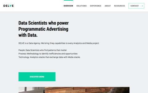 Delve | The Data Agency