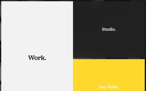 Screenshot of Home Page vigvam.ee - Haiku — a design studio in Tallinn, Estonia - captured Oct. 9, 2014