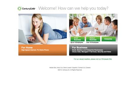 Home & Business Internet, Phone, and TV | CenturyLink