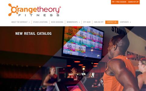 Orangetheory Fitness > Contact Us