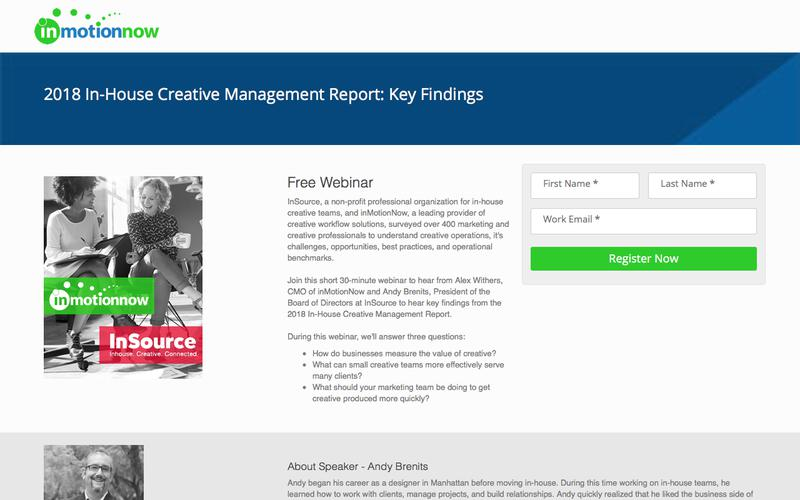 2018 In-House Creative Management Report: Key Findings