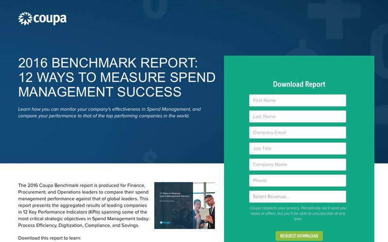 12 Ways to Measure Spend Management Success| Spend Management Analysis Metrics | Coupa Software