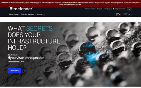 Bitdefender Hypervisor Introspection (HVI) - Developed with Citrix
