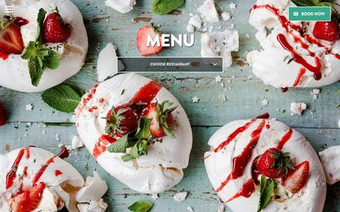 Screenshot of Menu Page bills-website.co.uk - Menu | Bill's - Breakfast, Lunch and Dinner - captured Aug. 23, 2016