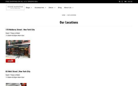 Our Locations – Studio Manhattan
