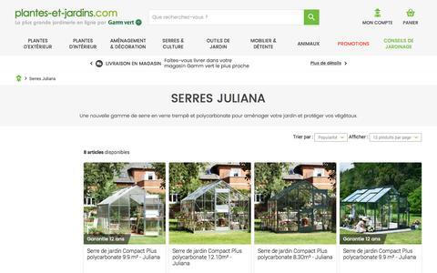 Serres Juliana - Plantes et Jardins