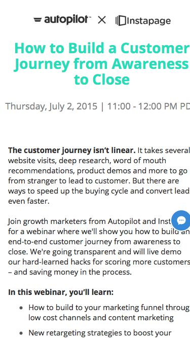 How to Build a Customer Journey from Awareness to Close - Webinar