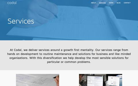 Full Service Mobile & Web Development Services | Codal