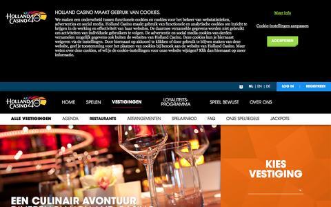 Restaurants - Holland Casino