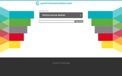 Screenshot of Team Page performancematters.com - performancematters.com - captured March 29, 2018