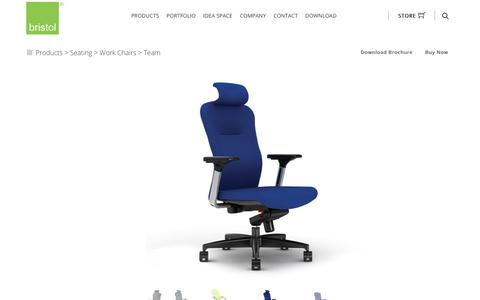 Screenshot of Team Page bristol.com.my - Bristol - Ergonomic Work Chairs | Office Chairs | Desk Chairs - captured Oct. 11, 2017