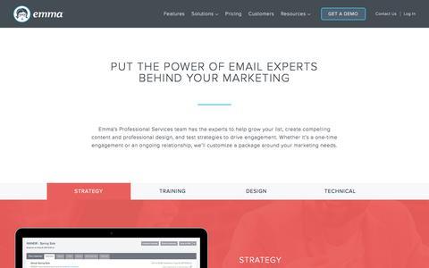 Request a Service | Emma Email Marketing