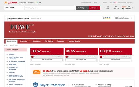Screenshot of About Page tangcreats.com - Factory to You Without Freight) - Small Orders Online Store, Hot Selling shipping technology,bag gym,flag brooch and more on Aliexpress.com - captured Oct. 27, 2014