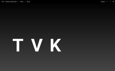 Screenshot of Home Page tvk.fr - TVK / News - captured Aug. 12, 2015