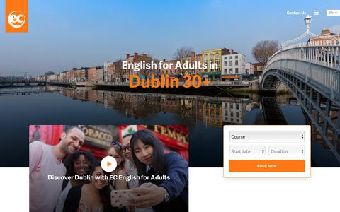 Adult English Courses - EC Dublin 30+ - EC English Language Schools
