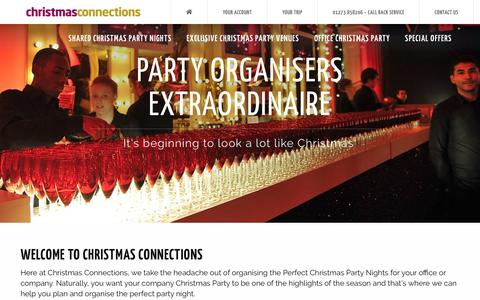 Screenshot of About Page christmasconnections.co.uk - Christmas Connections | About Us | Christmas Connections | Event Organisers - captured May 17, 2017