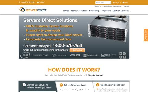Servers Direct  - Custom Built Servers & Storage Solutions
