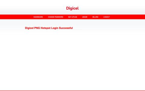 Screenshot of Home Page online.net.pg - Digicel PNG Member::Digicel PNG Hotspot Login - captured June 30, 2018