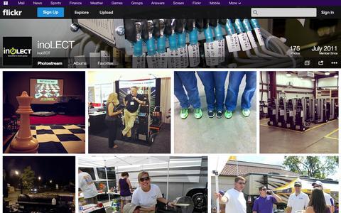 Screenshot of Flickr Page flickr.com - Flickr: inoLECT's Photostream - captured Oct. 23, 2014