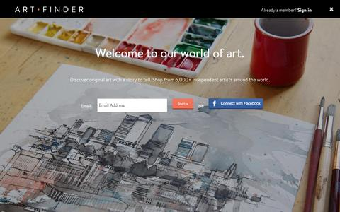 Buy Art Direct from The Best Independent Artists in the World | Artfinder