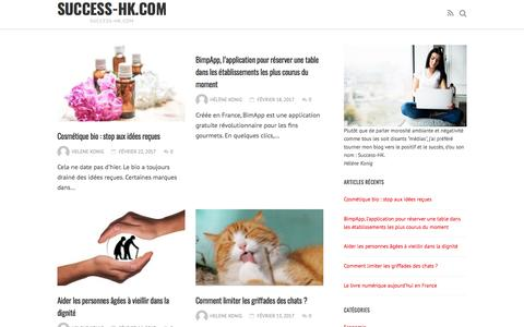 Screenshot of Home Page success-hk.com - success-hk.com - success-hk.com - captured April 3, 2017