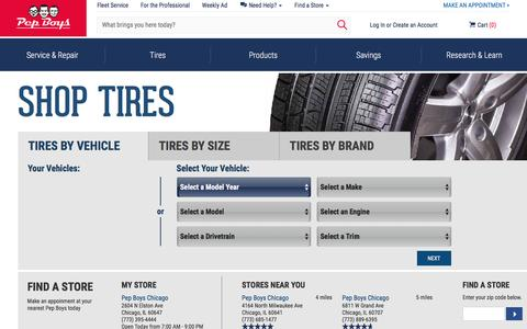 Tires and Truck Tires at Pep Boys