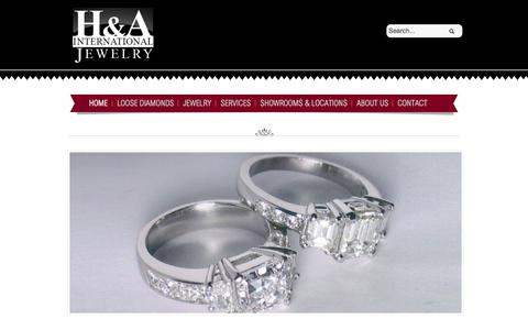 Screenshot of Locations Page hajewelry.com - Learn Why H&A International Jewelry Is the Best Place for Diamonds, Atlanta - captured Oct. 1, 2014