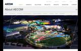 Old Screenshot AECOM About Page