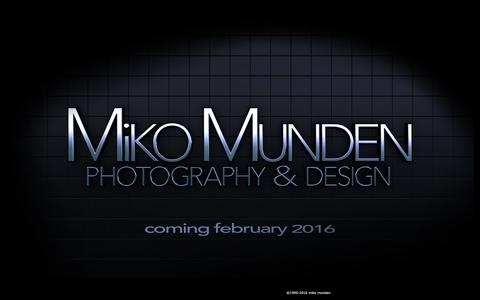 Screenshot of Home Page mikophoto.net - coming february 2016 - captured Feb. 13, 2016
