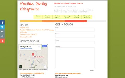 Screenshot of Privacy Page Contact Page mywellnesschiropractor.com - Contact Us - captured Oct. 23, 2014